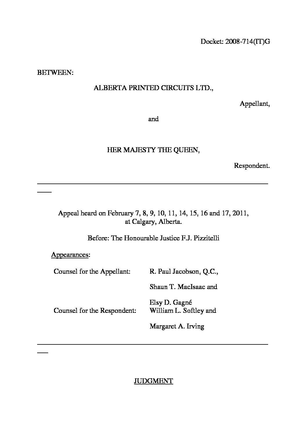 Bundled transactions - transfer pricing case law at - TPcases com